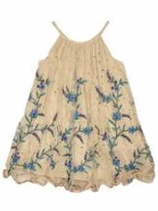 Ujala - Cream Embroidered and Sequins Dress