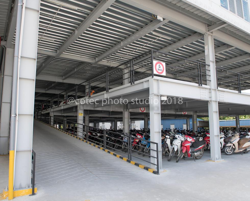 Motorbike garage