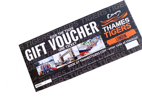 Thames Tigers Gift Voucher