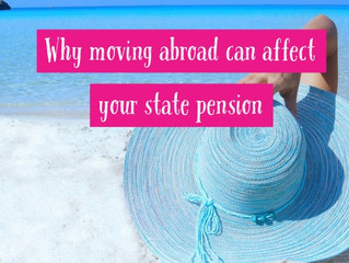 Why moving abroad can affect your state pension