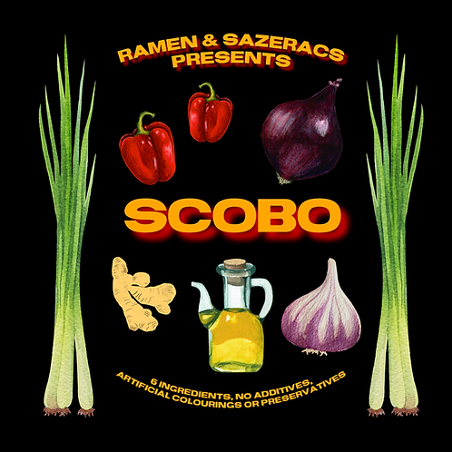 PRE-ORDER Scotch Bonnet 'Scobo' Chilli Oil