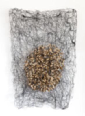 Papier, Textile, Fiber-Art, Paper-Art, art contemporain papier textile, création papier textile, artiste du papier textile,