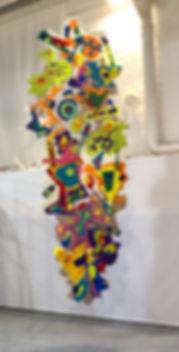 34°15'09-N, 118°02'31-W Alt 3527 km, Papier, Paper-Art, art contemporain papier, création papier, artiste du papier, Drop Paper - PROCEDES CHENEL