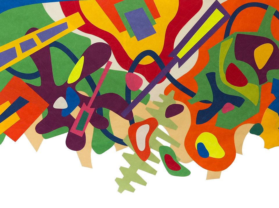 """45°28'23""""- N - 73°32'22"""" - O Alt: 6543 km, Papier, Paper-Art, art contemporain papier, création papier, artiste du papier, Drop Paper - PROCEDES CHENEL"""