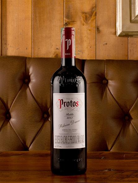 Vino Protos tempranillo 2017 Botella  (750 ml)