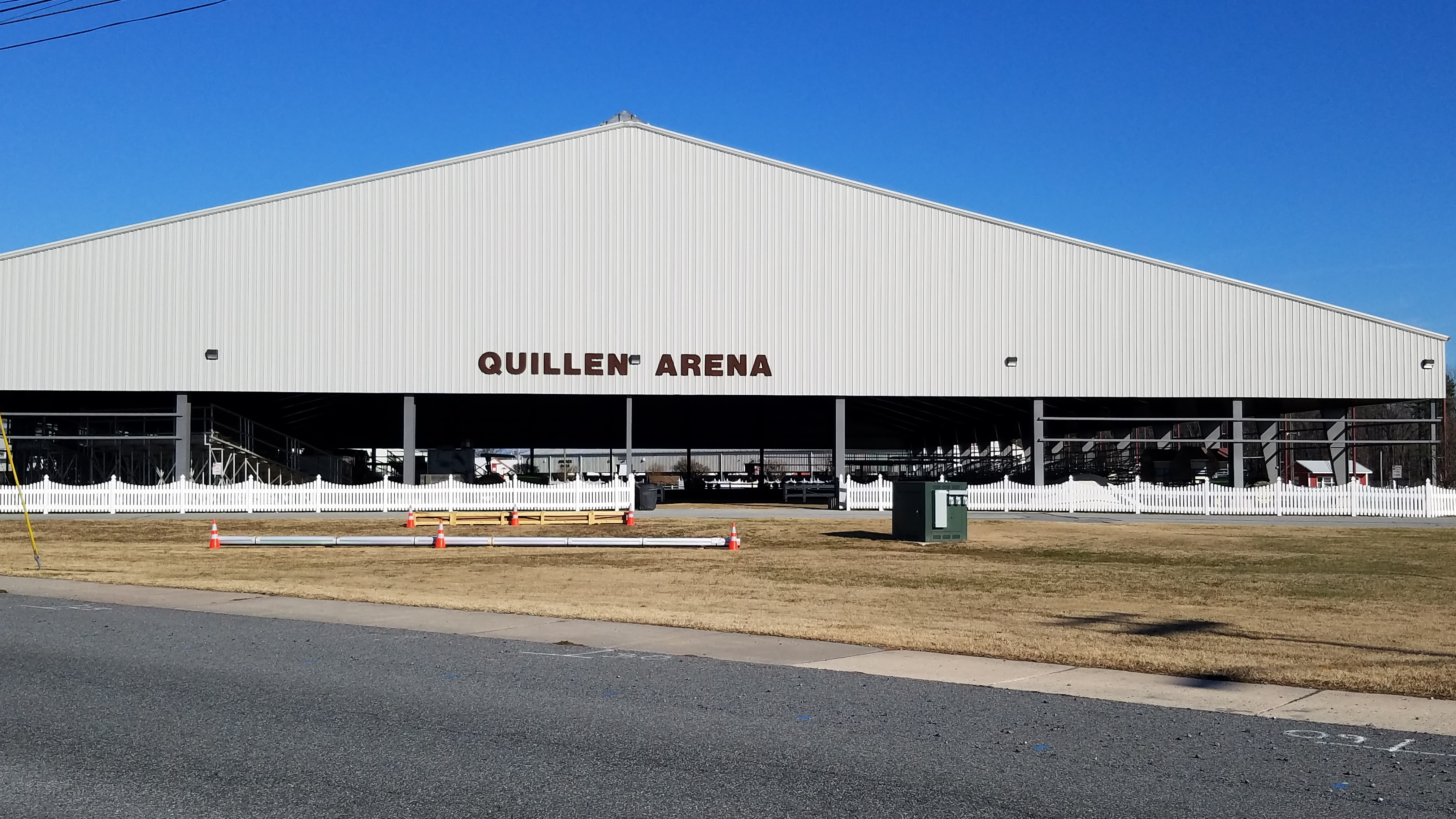 Quillen Arena, Harrington