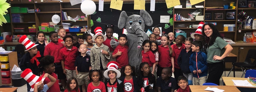 Dr. Suess day at Somerset Academy