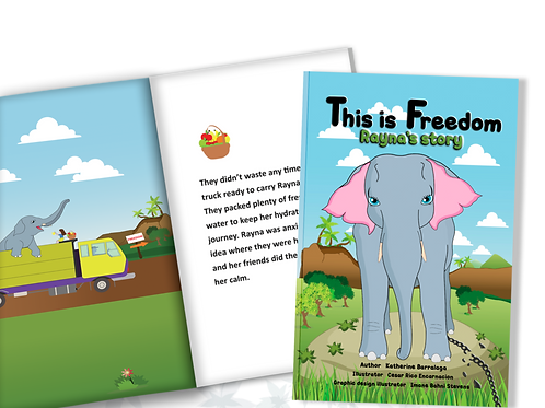 This is Freedom: Rayna's story paper back book