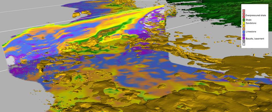 Pore pressure geobodies from regional 3D Velocity Inversion