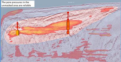 Regional pore pressure, Browse Basin Australia
