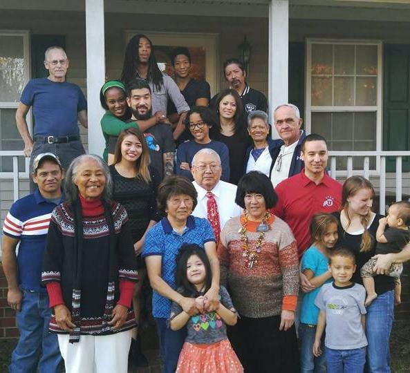 My family, 2015.