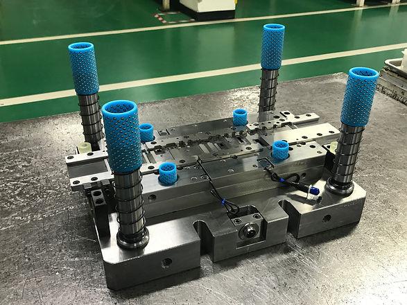 Sheet metal stamping tool die on the rep