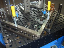Fixture Application on Welding Table