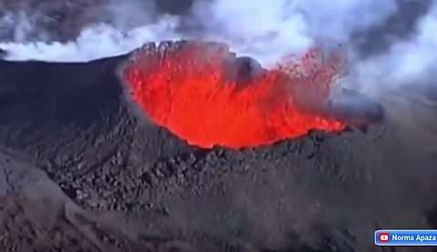 Formación de volcanes