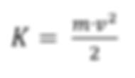Formulación matemática para la energía cinética