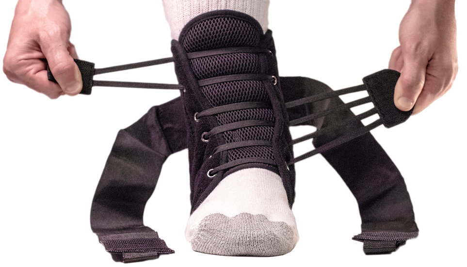 Pro Select Quick Lace Up Ankle Brace (L1902)
