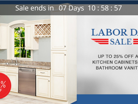 RTA Kitchen Cabinet Limited Time Sales
