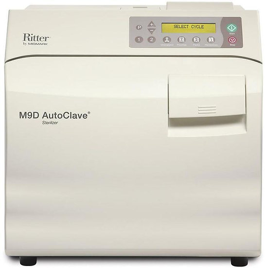 NEW - Ritter M9D AutoClave Sterilizer - Manual Door