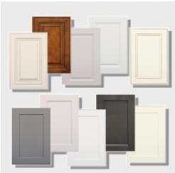 8 Framed Sample Doors