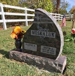 Autumn Mist Teardrop Monument
