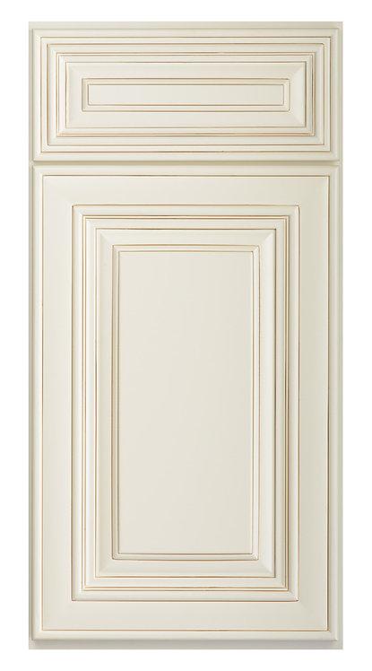 "Charleston Antique White Sample Door - SAMPLE DOOR 12-7/8""W x 15-7/8""H"