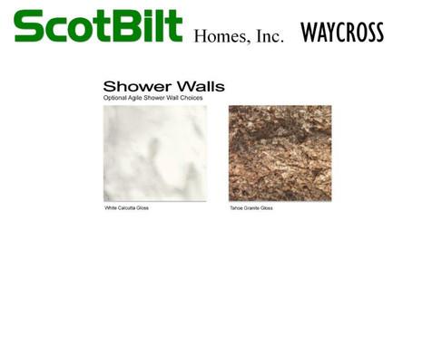Scotbilt Waycross 2019 - Shower Walls