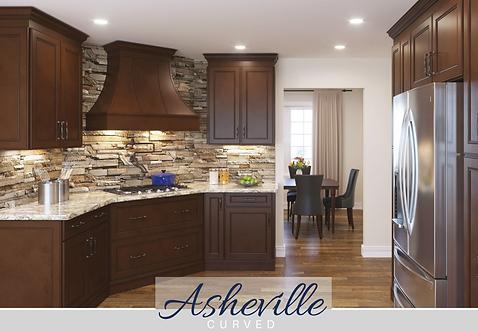 Asheville - Curved Wood Hood Finished