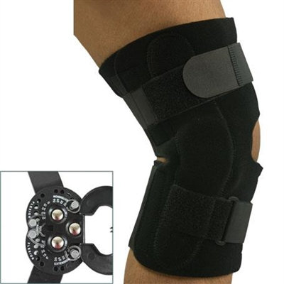 Universal ROM Hinged Knee Wrap (L1833)