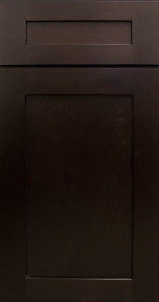 """Sonoma Mocha Sample Door - SAMPLE DOOR 12-7/8""""W x 15-7/8""""H."""