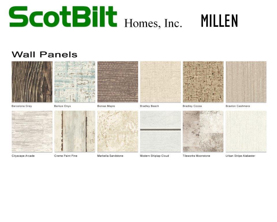 Scotbilt Millen 2019 - Wall Panels