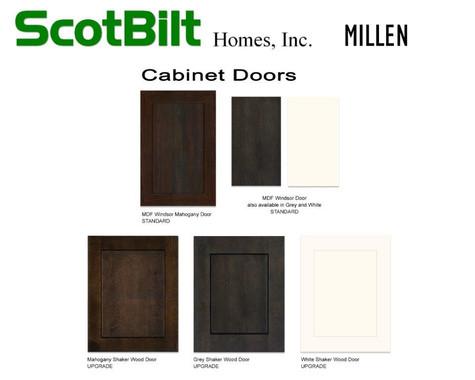 Scotbilt Millen 2019 - Cabinet Doors