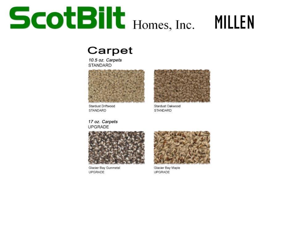 Scotbilt Millen 2019 - Carpet