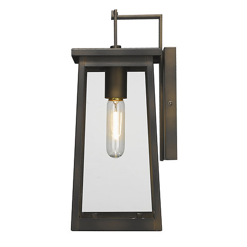 Alden 1-Light Oil-Rubbed Bronze Wall Light