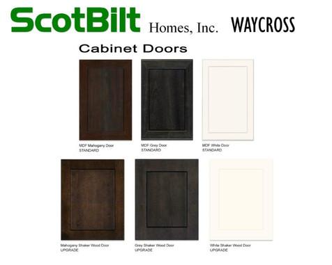 Scotbilt Waycross 2019 - Cabinet Doors