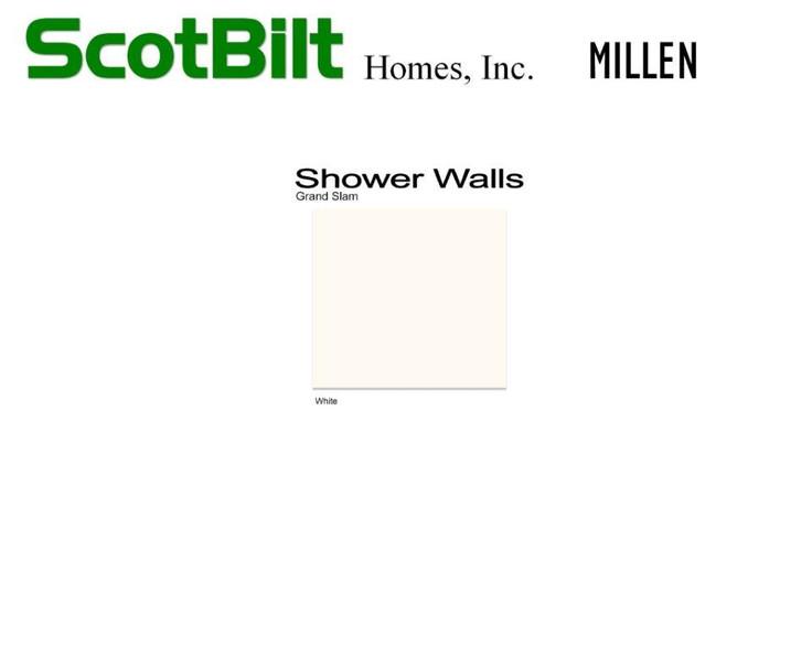 Scotbilt Millen 2019 - Shower Walls