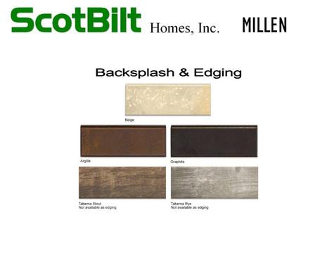 Scotbilt Millen 2019 - Backsplash & Edge