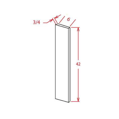 "Shaker Dove Wall Filler - 6""W X 42""H"
