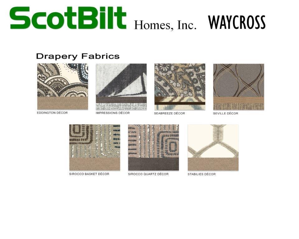 Scotbilt Waycross 2019 - Drapery Fabrics