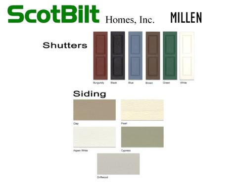 Scotbilt Millen 2019 - Exterior Shutters