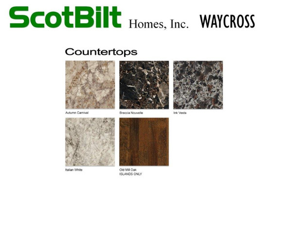 Scotbilt Waycross 2019 - Countertops