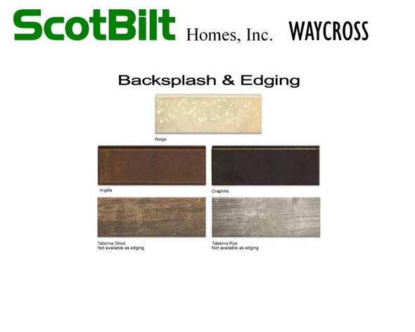 Scotbilt Waycross 2019 - Backsplash & Ed