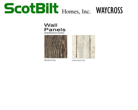 Scotbilt Waycross 2019 - Wall Panels