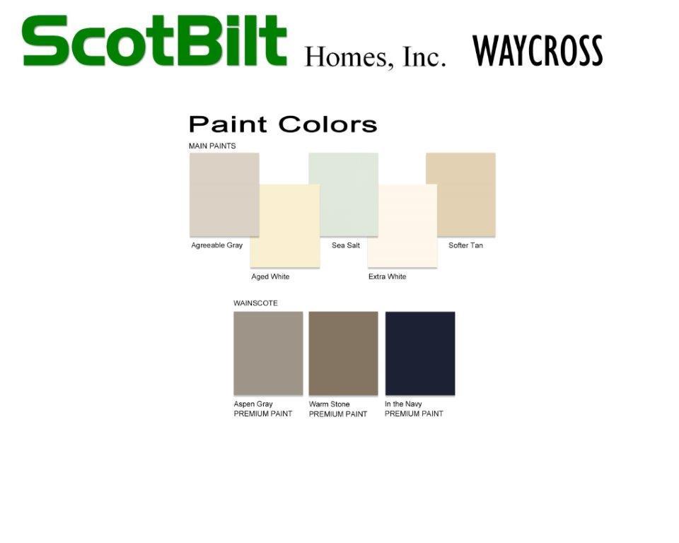 Scotbilt Waycross 2019 - Paint Colors