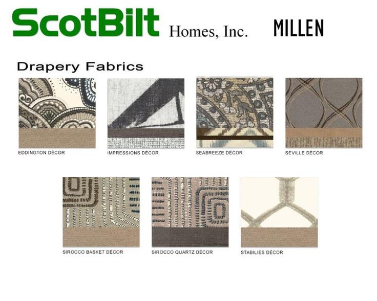 Scotbilt Millen 2019 - Drapery Fabrics