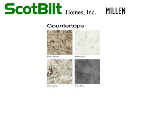 Scotbilt Millen 2019 - Countertops