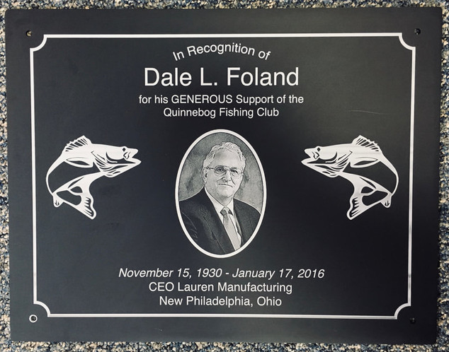 Fishing Recognition Plaque