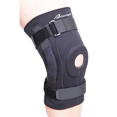 Neoprene Hinged Knee Wrap (L1812)