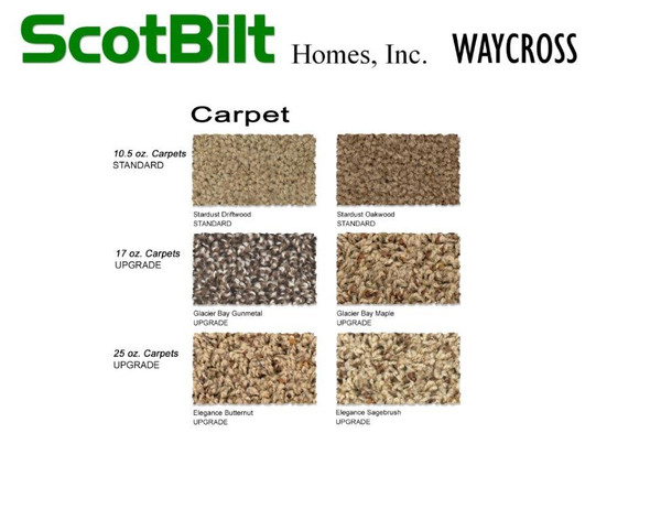 Scotbilt Waycross 2019 - Carpet