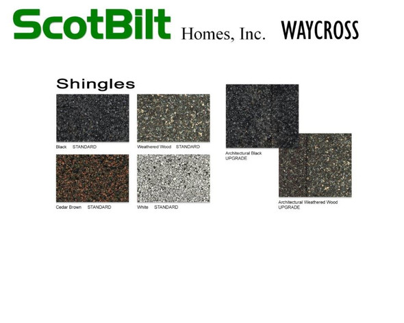 Scotbilt Waycross 2019 - Shingles