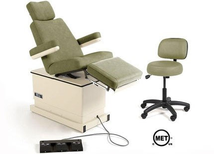 Hill HA90P Podiatry Chair with Power Elevation, Back & Tilt - Refurbished